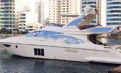 2012 Azimut 60 Flybridge Best Priced In the United States  Bottom Job Completed February, 2017. 3 Stateroom, 2 Head Layout Teak Hydraulic Swim Platform Crew Cabin Accessed Through Transom Door Spacious Salon - Excellent for