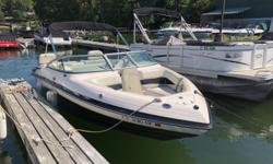 21 ft 2012 Bryant 210 with MerCruiser 4.3L MPI 220 HP - ONLY 86 Hours. Comes with a bunk trailer.Excellent condition, one meticulous owner. Fresh water only, used on Candlewood Lake. Boat is in the water ready for you to climb aboard. Engine(s): Fuel
