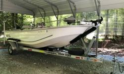 2012 Carolina Skiff Ultra Elite Series 21 All maintenance is done on time This boat is priced to sell now 21 DLV218 115 hp Suzuki 4 stroke 135 hours Road King Aluminum trailer with 15 radial tires Dual cranking batteries with selector switch 80 pound