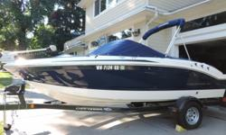 Actual Location: Seattle, WA You are going to love this versatile 2012 Chaparral 180 H2O Fish & Ski dual console. Whether out fishing or having a day of tubing or pulling skiers she is ready to go! You may just want a beautiful day slipping away to your