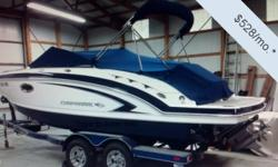 Actual Location: Mitchell, NE You can own this vessel for as little as $585 per month. Fill out the contact form to learn more!There are deck-boats, and there are bow-riders, and Chaparral's 224 Sunesta blurs the line somewhat between the two. Her Wide