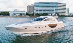 PAESANA is a high performance express cruiser that looks just as good doing 37 knots as she does cruising down the ICW at idle speed with ease of docking with joystick controls. PAESANA comfortably sleeps 6 guests in 3 cabins including a full beam master