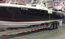 Very Clean Top Fish Hard To Find Model Ready to Go - Nothing is wrong with the boat Triple 300 Verados - Trailer Included Serious Buyers Only Please Owner will sell but doesn't have too. Note: This boat has the extra transom seating in lieu of a