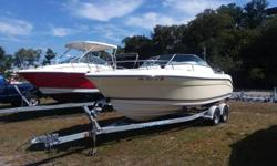 New to Brokerage is this 2012 Cobia 215 Dual Console powered with a Mercury 150XL 4 stroke and package with an EZ Loader galvanized roller trailer. This vessel has 202 hours on it.This model is wquipped with a bimini top, bow and cockpit covers,