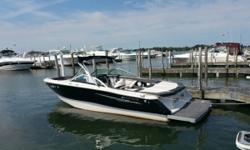 2012 Four Winns 230 Horizon DISCOVER THE HORIZON SERIES H230Growing guest list? With this 23-footer's abundant cockpit space and extra storage, you can afford to be generous with your invitations! There's not much missing from the H230. It even includes a