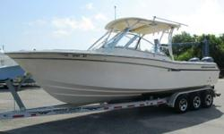 MINT 2012 Grady White 275 Freedom Dual Console w/ Twin Yamaha 150 4-strokes (ONLY 71 HOURS!) - Hardtop, Dry Stored, Warranty DEPOSIT TAKEN - PENDING DELIVERY. MINT 2012 Grady White 275 Freedom Dual Console w/ Twin Yamaha 150 4-strokes w/ Only 71 Hours &