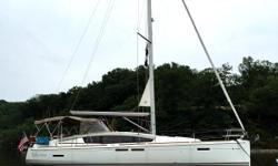 Reflection is a meticulously maintained yacht that is in true sail away condition. The original owners have invested in upgrades for ease of operation, maintenance, and comfort. The chine in the hull expands the room below to create an owners