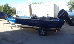 2012 Lowe Stinger IND 18 with Mercury 115 Optimax and trailer! Nominal Length: 18' Length Overall: .1' Engine(s): Fuel Type: Other Engine Type: Outboard Beam: 0 ft. 1 in. Stock number: 1018153