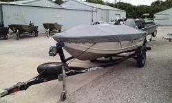 VERY CLEAN BOAT JUST IN ON CONSIGNMENT: 2012 LOWE V1467WT UTILITY DEEP V  WITH A MERCURY 15ELH FOUR STROKE ENGINE AND TRAILER. FEATURES INCLUDE: BRAND NEW COVER FROM OTTO'S IN ARTHUR IL. SPARE TIRE AND BRACKET ROD HOLDER SWIVEL DRIVERS SEAT