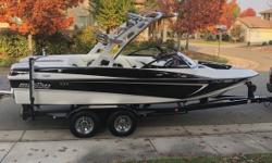 2012 Malibu Wakesetter VLX New factory 350 Chevy-Indmar engine with 30 Hours on it due to impeller failure and subsequent overheat Dealer installed $3500 custom audio system Trailer just serviced Newly detailed with CeramicPro protective coating Almost