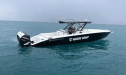 -Bahamian Duty Paid -Bow thruster -Monster JL Audio system -Autopilot -Powdercoat package -Battery charger -Depth sounder -Vhf Radio -Electric head with pump out -Windlass anchor -Black hullsides with White bottom -Kplanes and Indicators -Fish boxes with