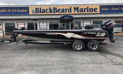 2012 Nitro Z8 Brand new upholstery on all seats! ? Brand new upholstery on all seats ? Motor Guide Tour Digital 36V trolling motor Beam: 8 ft. 0 in. Stock number: U02J112