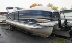 2012 Premier Intrigue 250 ? 36 PTX Package 3 Tubes ? Sedona Berber ? Flexsteel 10-Star chairs (D/L Seating) and Couches ? Flexsteel Aft Filler Couch ? Couch pop-up changing room ? Royal Command View Helm ? Baystar Hydraulic Steering ? Calypso Gauges ?