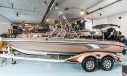 This 2012 Ranger 621 VS used fishing boat is an angler's dream! Features include Simrad N558 (helm), Lowrance HDS10 (helm), Lowrance HDS8 (bow), 36V MinnKota Ulterra trolling motor, Sony Stereo, trollmaster, GPS, rod holders, 4 bank battery charger,