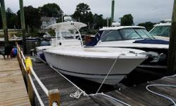"2012 Regulator 34 SS Starboard Seating powered with Twin Yamaha F350s with just 110 hours on the motors.  White hull with white powdercoating.  Twin Garmin 5212 with VHF100 and 18"" radar.  Boat has anti-fouling bottom paint and no trailer"