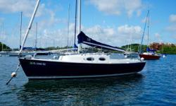 22% PRICE DROP - GO FOR IT AND ENJOY! Beautiful, Fun to Sail, Lightly Used Schock Harbor 25 When you look beyond the classic beauty of this stunning design, you find a performance hull shape, an amazingly roomy cockpit that comfortably seats six,
