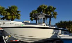 2012 Sea Chaser 2600 CC OffShore, Twin 175 Suzuki's with less that 20 Hours on the whole rig, Hard Top, Electronic box, VHF Radio, Lowrance HDS10, Trim Tabs, Dual LiveWells, Anchor Windlass, Full Custom snap fit cover. $65,000.00 727-862-0776 Antonietti