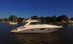 This2012 Sea Ray450 Sundancer has only had one owner. They have lightly enjoyed her as a day boat.A work relatedrelocation has made her reluctantly for sale. This is a great opportunity for a super clean, loaded, very low hour