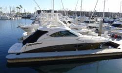 The Sea Ray Sundancer 470 is a sport yacht with sleek styling, sumptuous accommodations, and advanced power systems.  This boat is offered by its original owner and is in excellent condition.  Features include: Twin Cummins QSB diesel 480hp
