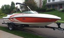 2012 Sea Ray 185 Sport with trailer Original owner Super clean Extremely well maintained Low engine hours 4.3 MerCruiser SS Prop with extra Aluminum Prop Everything you need included fish finder skis tubes ropes bumpers vests anchor etc. You wont find a