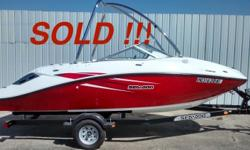 2012 18 Sea-Doo 180 Challenger SE 255 hp motor Wakeboard Tower folds to fit in garage Trailer wrong folds to fit garage Mooring Cover. Keep on a boat lift with Canopy to of the weather! Only 110 hours with major service performed before Winter storage