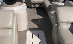 2012 Suncatcher Elite 325C The Sun Catcher Elite series combines luxury and performance to provide two of the most comfortable and dynamic pontoon designs on the water. Plush high-back furniture is complimented by premium amenities, including Sony Marine