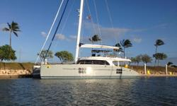 LLC OWNED It is a rare opportunity to be able to acquire an exceptional SUNREEF Sailing 70 Cruising Catamaran this part of the World. The vessel has been shipped from the factory to FLL by the 1st owner and then she sailed to HI. She was sold to her