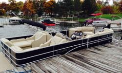Owner is moving and must sell. This pontoon is loaded and priced $15-$20K below the price of a similar new one. Triple-toon with performance package featuring Sylvan's exclusive RPT technology. This boat was custom ordered with nearly every possible