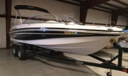 2012 TRACKER TAHOE Q8I SS PRICE INCLUDES: MERCRUISER 5.0 MPI TRAILSTAR TANDEM W/BRAKES BIMINI TOP JENSEN AM-FM-CD RADIO 5 BLADE SS PROP Nominal Length: 20' Length Overall: 20' Engine(s): Fuel Type: Other Engine Type: Stern Drive - I/O Beam: 8 ft. 6 in.
