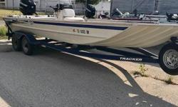 This is a used Grizzly 2072 center console fishing boat with a 115hp Mercury motor and a trailer. Trailer also has a spare tire and boat has a bimini top to help keep the sun off of you. Still in good condition. Motor runs good. AS IS NO