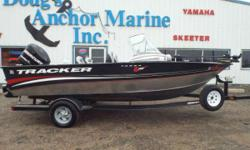 "2012 Tracker V18 Targa WT, 2012 Mercury 150XL Optimax(103 Hrs), Minnkota Terrova 80/US2/60"" w/IPilot, 4 Seats, Jensen Stereo, Cover, Marine Band Radio, Boarding Ladder, Side Storage, Floor Storage, Front and Back Live/Bait Wells, 2013 Trailstar Trailer"