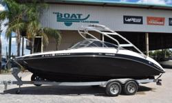 2012 Yamaha 242 Limited S, Stock: 84402012 Yamaha 242 Limited S (W/ Boat Cover!)2012 SHLR Aluminum Tandem Axel Trailer*****EXCELLENT FINANCING AVAILABLE!******CALL SETH: (504)295-2787Boat in great shape, has boat cover, large space for the family!Boat