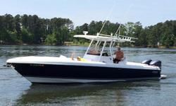 Stock Number: 716666. This innovative new Intrepid 327 Center Console provides a combination of performance, comfort and versatility you ll find only on an Intrepid. Only second owner of this pristine condition boat. Documented vessel. Complete Survey