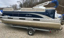 THE GREAT OUTDOORS MARINE - THE FUN STARTS HERE! We have this 2013 Avalon GS 1880 CR with a 2013 Honda 40hp 4-stroke outboard with only 78 hours on it. It has a single axle galvanized Road King 18' trailer, a bimini top and storage cover. Inside the boat