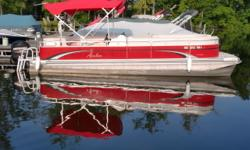 This boat has been our rental fleet for 2 years. It is powered by a Mercury 90hp four stroke outboard. We have taken the most popular elements of the full line of boats and combined them into one fabuolous value! In addition to the care and qulaity used