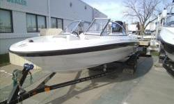 2013 Bayliner 160BR Outboard bowrider with Mercury four stroke 90hp EFI and matching Karavan single axle tariler with swing tongue. Package includes snap-on bow and cockpit covers ,ski tow pylon, and stereo with MP3 plugin. View more photos soon at