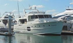 This 2013 Beneteau 52 Swift Trawler has a few great advantages to the new 50 model. Portuguese Bow, Proper Pilot House, Symmetrical Cabin House, 2 pilot house doors (port/starboard) and Larger Flybridge.  220V with converter makes her a