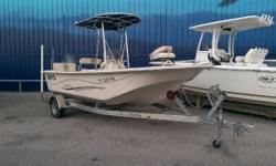 """2013 Carolina Skiff 198 DLV Powered by Yamaha 115 Four Stroke Less than 10 Hours! *T-Top w/ Spreader Lights *Front and Rear Pedastal Seats *Raw Water Wash *8' Power Pole Sportsman II w/ Bracket *Trolling Motor 54"""" 70# Co-Pilot *Pro-Charger w/ Plug in"""