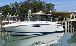 2013 Cobalt 336 Bowrider- Lowest priced 336 Anywhere in the country! Powered with Twin Mercury 377 V8 Duoprop with AXIUS Joystick and only 350 Hours! Stainless Arch w/Hard Top Swim Platform Transom Lighting Generator Air conditioning Aft sunshade 30 Amp