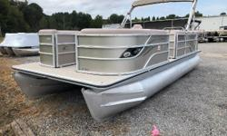Used 2013 Crest Classic 230 that is clean and in great shape.  Powered by the reliable Yamaha 150hp four stroke motor, this boat will pull a skier in the afternoon and keep a large crowd comfortable for a sunset cruise. Price reflects boat and
