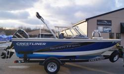 SALE PENDING 2013 Crestliner Super Hawk 1750 115 OPTIMAX W/ 9.9 PRO KICKER The most adept fishing boats on the water become a completely new family for 2013 ? now the 1750, 1850 and 1950 Super Hawks. Destined to keep its title as a versatile favorite, the