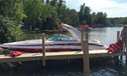 Located Saratoga Springs New York 2013 Crownline 285SS w/ Arch This Boat is in Mint shape . 38 hours Customer purchased docked and stored in the Adirondacks. Fresh water use. Special ordered by the owner . Added options Bow filler cushions ,Additional 12v