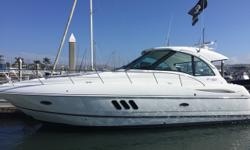 Full Eletronics, Cockpit Air/Heat, Low Hours as this boat has not seen much usage. Sold originaly in late 2014 and the one owner traded it in within a year for a new Cruisers Yachts. If this boat meets your qualifications than you owe it to yourself to