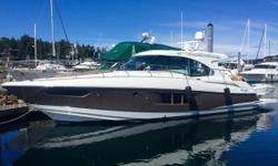 Super clean late Model boats are very hard to find these days. This one is LOADED and won't last long. Save hundreds of thousands over new! This BEAUTIFUL low hour Cantius is LOADED with options. Over $70K in upgrades and less than 200 hours on her Twin
