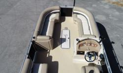 2013 Cypress Cay Pontoons Cabana 220 ?One Owner ?Mercury 150hp Four Stroke ?Stainless Steel 3-Blade Prop ?Hummingbird Helix 5-Sonar-GPS-Depth-Fish Finder ?Rear Lounge Seats ?Cockpit Table ?Moveable Cupholders ?Full Mooring