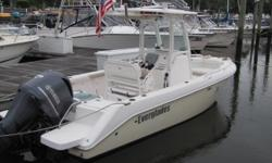 2013 Everglades 210CC with 250hp Yamaha Four Stroke Garmin Radar, Plotter, & Sounder Custom ordered hull color and cushions Optional hardtop Yamaha Y.E.S. warranty till 2018 Nominal Length: 21' Length Overall: 22' Engine(s): Fuel Type: Other Engine Type: