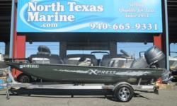 2013 EXPRESS XP180, THIS TOUGH ALUMINUM EXPRESS FISHING BOAT IS LOADED AND READY TO DROP IN YOUR FAVORITE FISHING HOLE. IT FEATURES A MINN-KOTA EDGE TROLLING MOTOR 70LB 24 VOLT, A LOWRANCE ELITE 7 HDI FF AT THE BOW, A HUMMINGBIRD 598 CI HD AT THE HELM,
