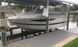 2013 Four Winns Vista 275 Details- 408 hours New engine with 3 year unlimited hour warranty Volvo penta v-8 320 Generator Ac and heat head Electricity Toilet Fire extingisher system New deck sunpads Canvas bimini Arch canvas camper Arch canvas ckpt cvr