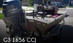 Actual Location: Bozeman, MT - Stock #092736 - CENTER CONSOLE, 3 CAMO SEATS (2 ON POSTS), BOW MOUNTED TROLLING MOTOR, ROD HOLDERS, GALVANIZED TRAILER & MUCH MORE!!This 2013 G3 16 Gator Tough model. It is a great boat to get you into the places you want to