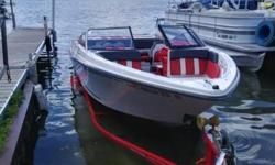 You won't find a cleaner used boat in the market. This boat is equipped with the 4.3 V-6, bow and cockpit cover, bimini, stainless package, stereo w/Bluetooth, trailer, two sets of snap in carpet.Glastron's are one of the finest in-land lake boats made